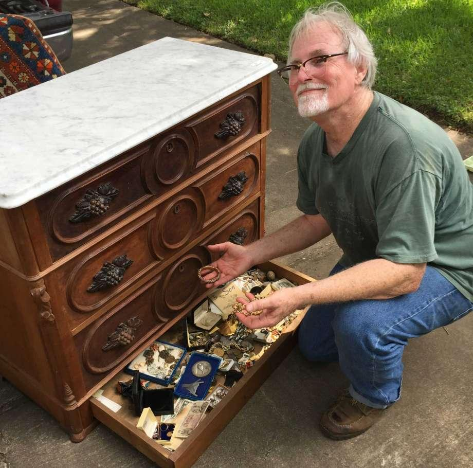 Man Buys Used Dresser At Yard Sale, And It Hid This
