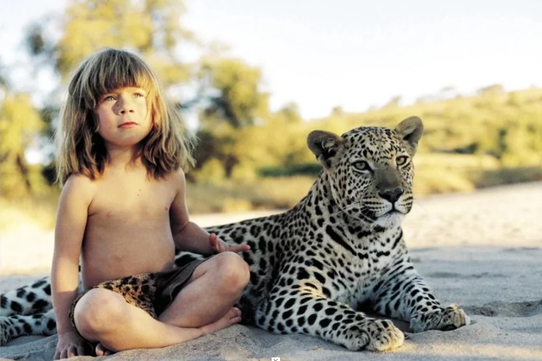 Toddler Named Tippi Has Amazing Childhood Among Africa's Most Ferocious Beasts