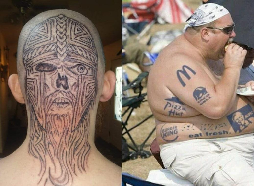 Here Are The Worst Tattoos In The World